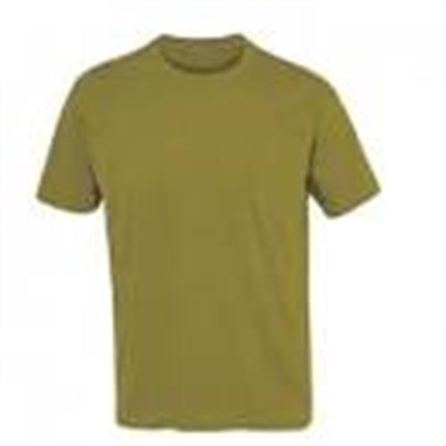חולצה מנדיפת זיעה קצרה זית - Dray Fit olive T-shirt