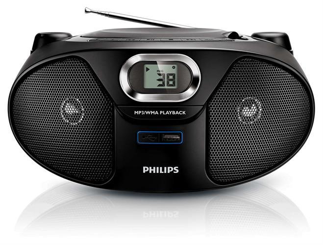 מערכת שמע ניידת Philips AZ385 פיליפס