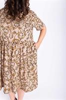 שמלת אורי ניוד מודפס