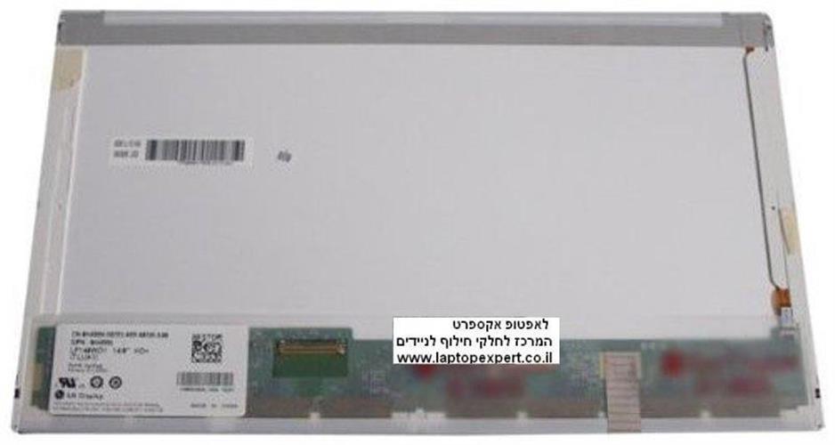 החלפת מסך למחשב נייד LG LP140WH1-TLA1 , LP140WH1 (TL)(A1) 1366*768 Glossy LED 40pins