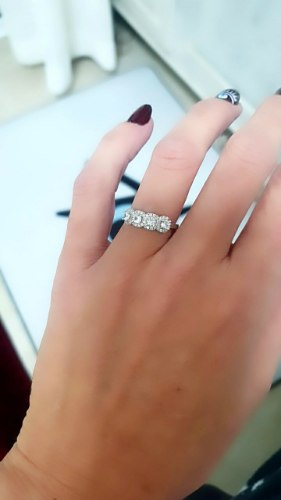 טבעת מילי פרחים מכסף