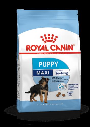 רויאל קנין מקסי פאפי לכלב גור גזע גדול 15 ק״ג - ROYAL CANIN PUPPY MAXI 15 KG