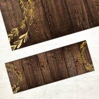 """שטיח """"הדפסי עץ כפריים"""""""