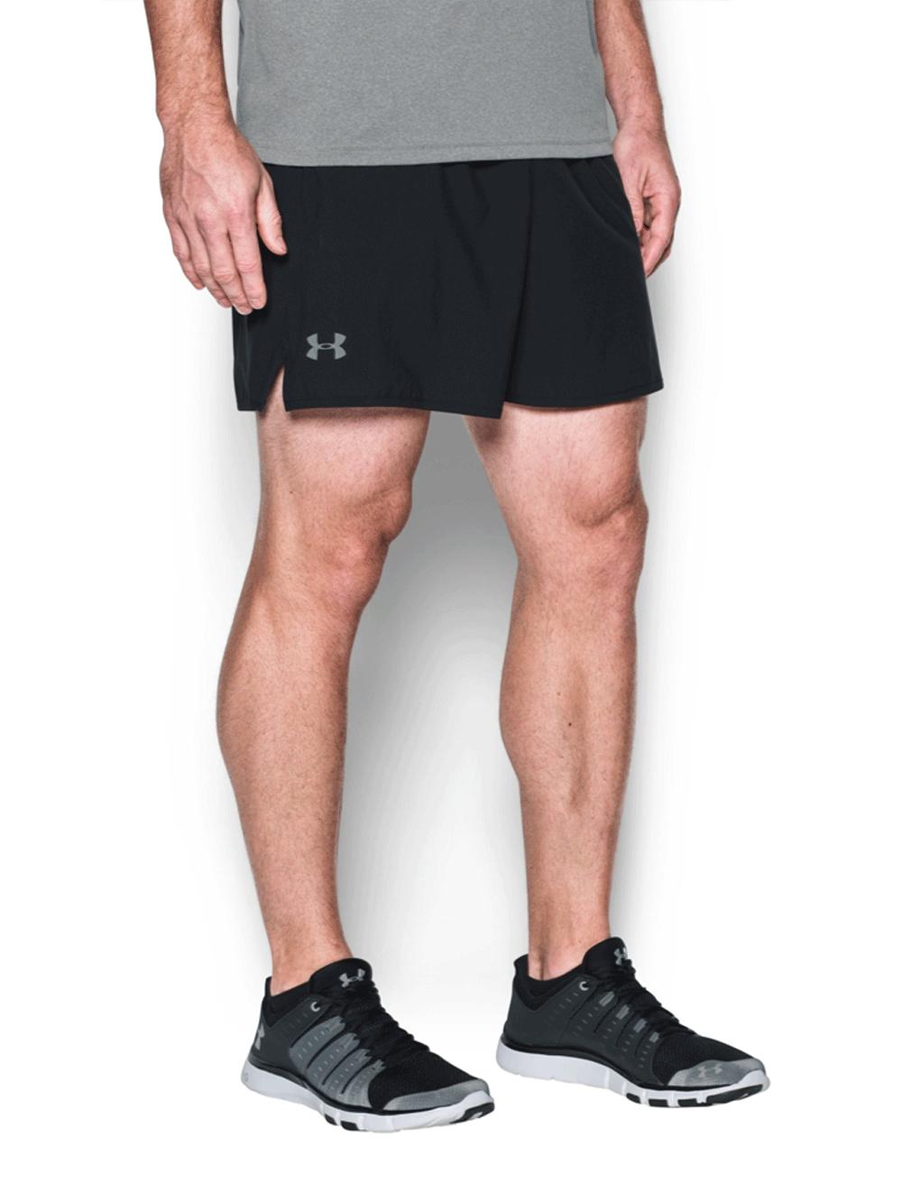 """מכנסי אימון שורט אנדר ארמור לגבר 1289626-035 Under Armour Qualifier 5"""" Shorts"""