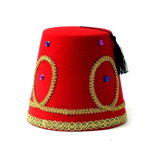 כובע תרבוש עיטורים