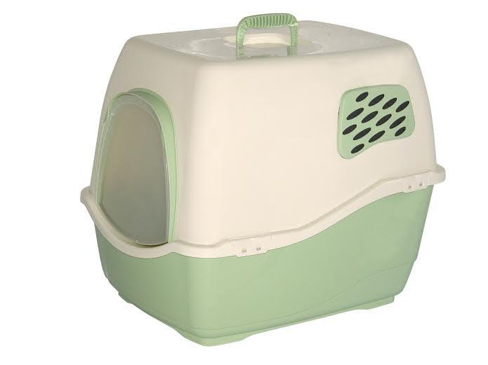 שירותים לחתול ביל 1 ירוק בהיר עם מסנן