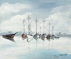 סירות באופק
