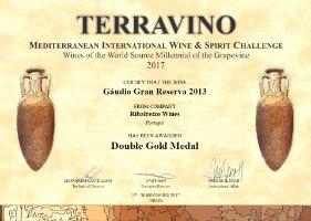 זכיה בתחרות ישראלית TERRAVINO - מדליית זהב כפולה
