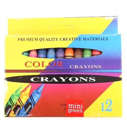 מארז צבעי שעווה עבים לילדים