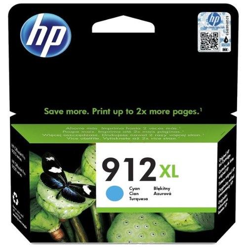 ראש דיו ציאן מקורי HP 912XL