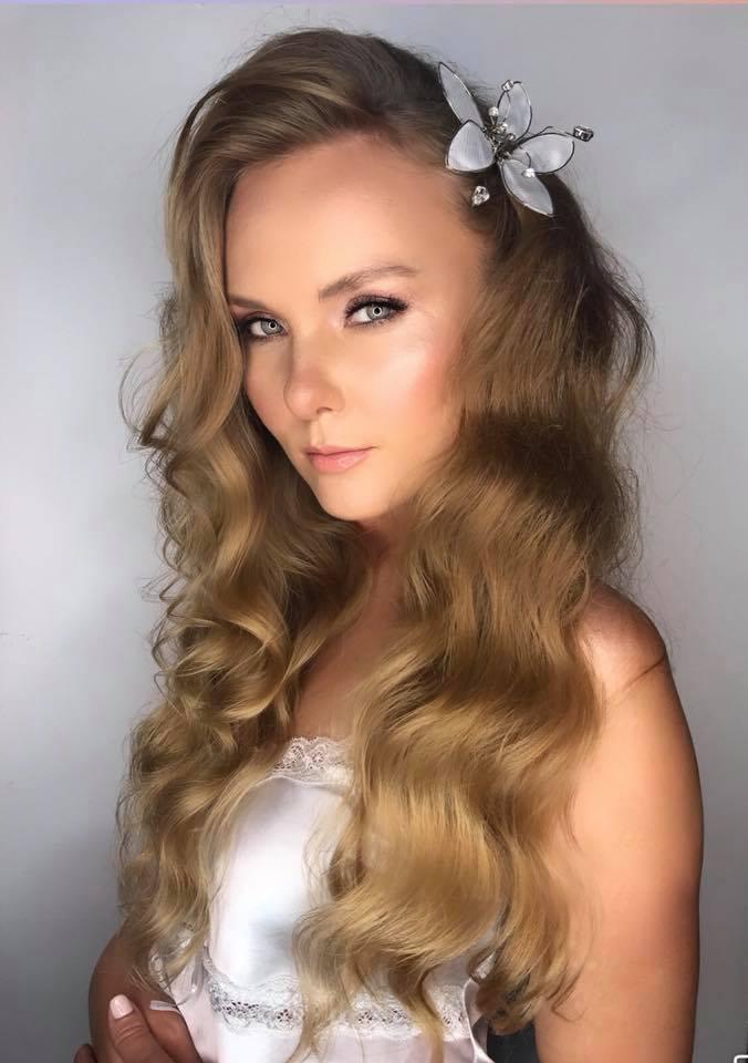 תכשיט לשיער פרח כסף