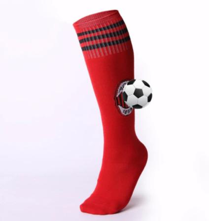 גרביים גבוהות מדליקות בצבע אדום למשחקי BDSM