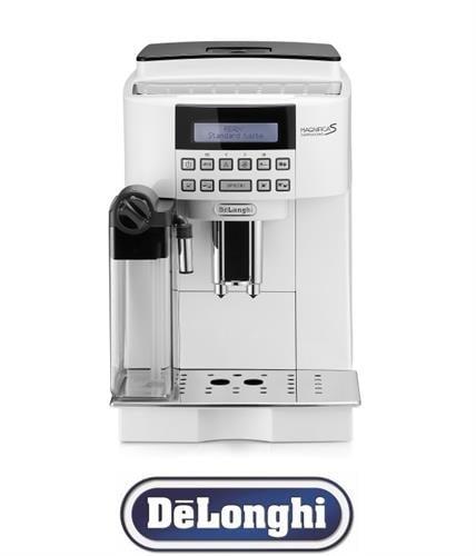 DeLonghi מכונת אספרסו אוטומטית  ONE TOUCH דגם ECAM22.360.W
