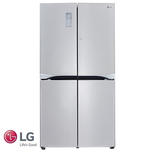 מקרר 4 דלתות של חברת LG  דגם: GR- B909DID