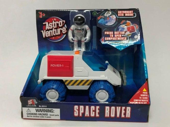 רכב חלל עם אסטרונאוט