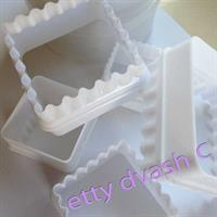 SQUARE COOKIE CUTTERS