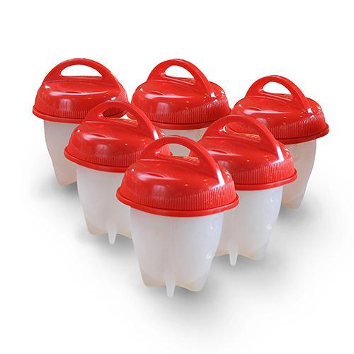 סט תבניות מיוחדות להכנת ביצים הכולל 6 יחידות