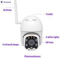 מצלמת IP אלחוטית חיצונית , חיבור מהיר, ראיית לילה,  איכות 1080P מבית Dynamode