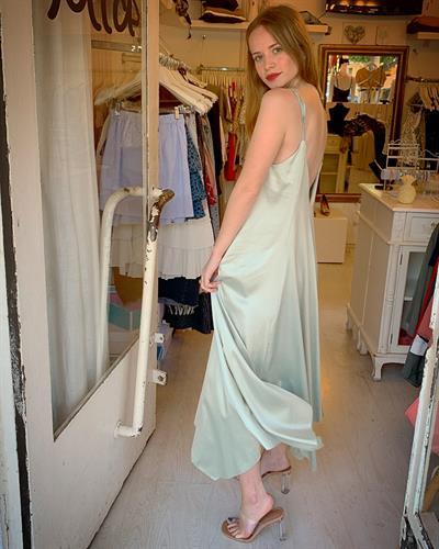 שמלת ליאל - מנטה