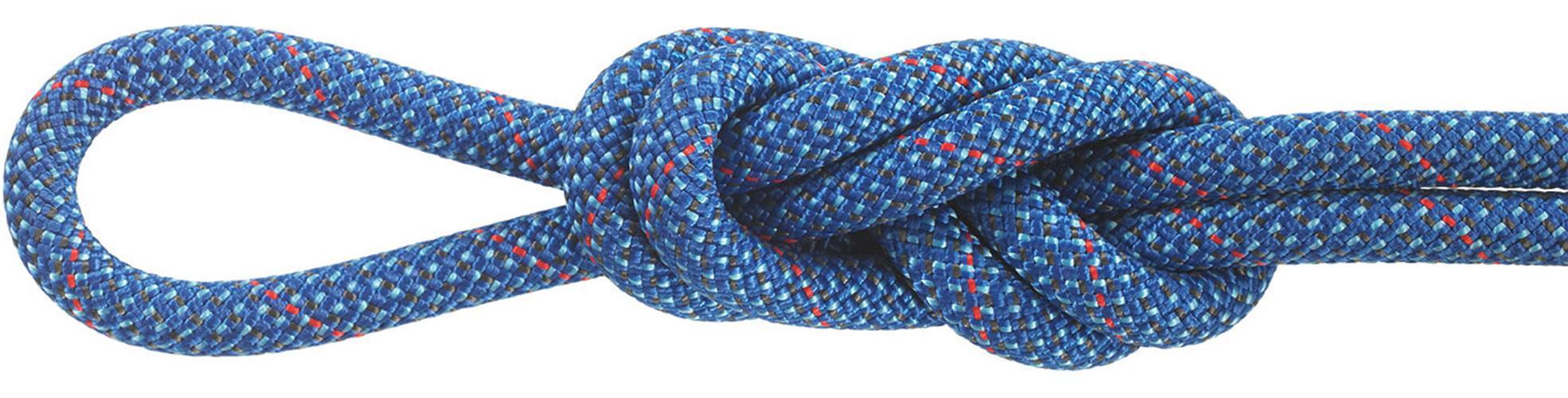 """חבל דינמי 9.5 מ""""מ PINNACLE  כחול 60 מ'"""