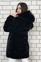 מעיל פלאפי קנדל שחור