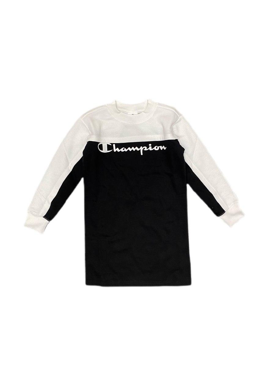שמלת פוטר שחור לבן CHAMPION