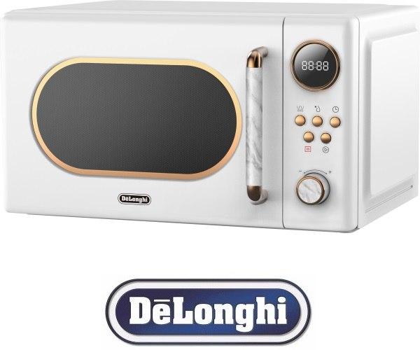 DeLonghi מיקרוגל דיגיטלי רטרו 20 ליטר דגם DL3820W