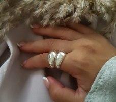 טבעת ניו יורק כסף
