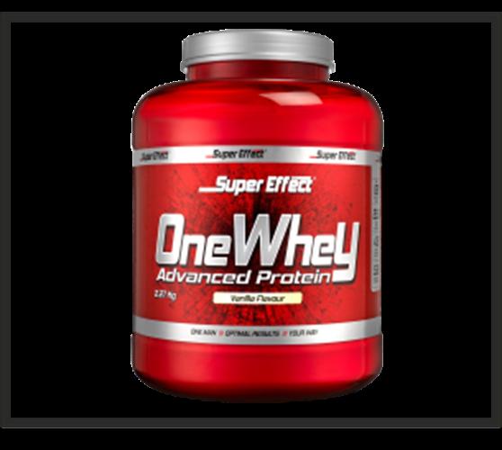 אבקת חלבון כשרה ONE WHEY  2.3kg  Super Effect  + שייקר מתנה