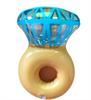 יהלום - 4 יחידות מחזיקי כוסות במבחר צורות