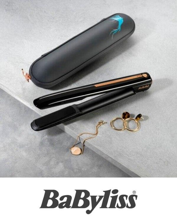 BaByliss מחליק שיער אלחוטי דגם BA9000RU