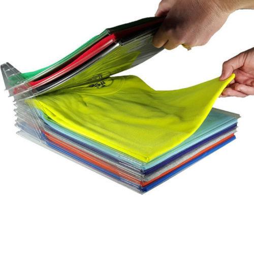 בגדים מסודרים בארון - כולל 10 שלבים