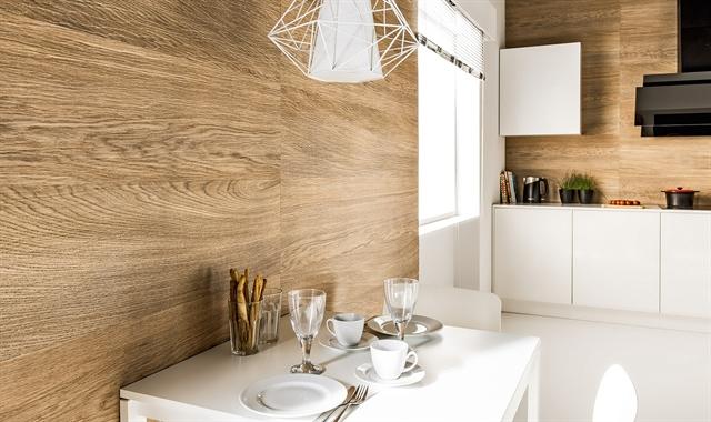 חיפוי קירות פולימרי 100% עמיד במים Kerradeco דגם ''WOOD BRANDY''
