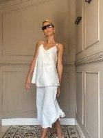 חצאית SLIM - לבנה