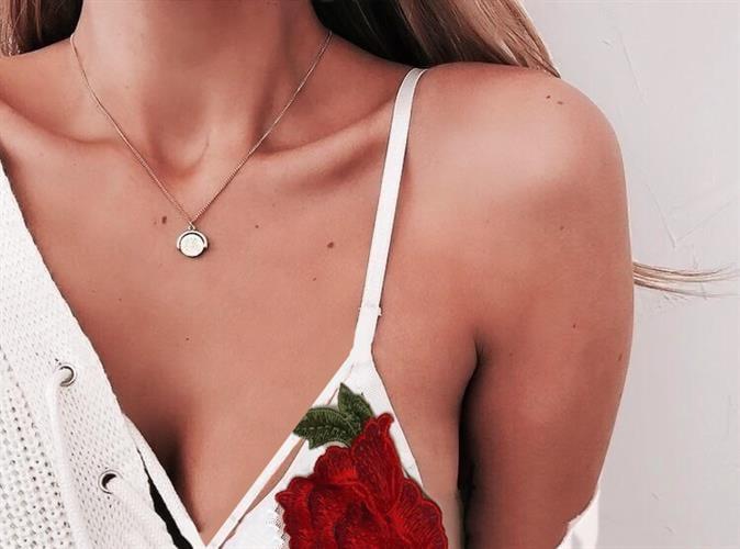 Roses bra