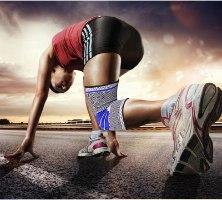 גרב אלסטית לתמיכה בכאבי ברכיים- Winspain