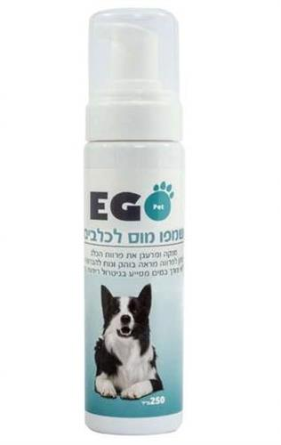 שמפו יבש לכלב מוס ריחני לטיפוח