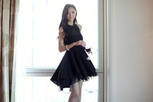 שמלת קוקטייל סקסית בד שיפון מעוצבת