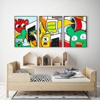 סט תמונות צבעוניות לחדר ילדים של האמן כפיר תג'ר