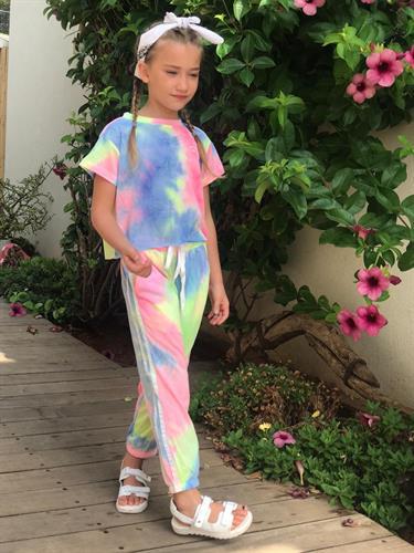 חליפת מכנסיים טאי דאי ניאון