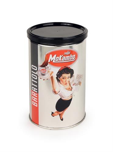 קפה טחון מוקמבו 250 גרם בפחית - Barattolo