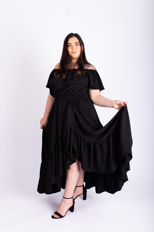 שמלת אנה שחורה