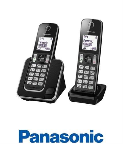 Panasonic טלפון אלחוטי + שלוחה אחת דגם KX-TGD312MBB