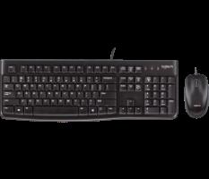 סט מקלדת עכבר MK120 חוט Logitech USB