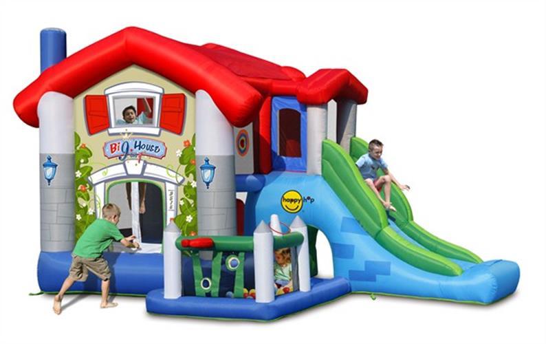 מתקן קפיצה הבית הגדול הפי הופ - 9515 - Big House Happy Hop