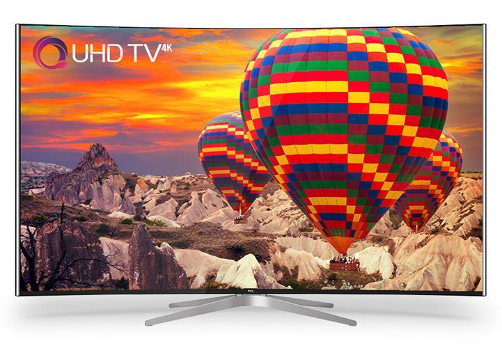 טלוויזיה 65 אינצ' 4k UHD קעורה TCL דגם: L65C1CUS