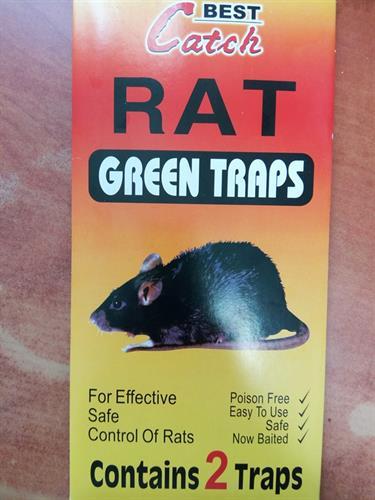 מלכודת דבק לעכברים וחולדות