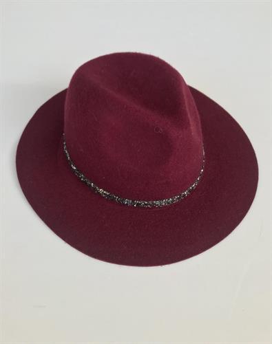 כובע שיין בורדו