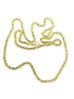 שרשרת חבל זהב 14 קראט