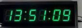 שעון קיר חשמלי גולף 4818G